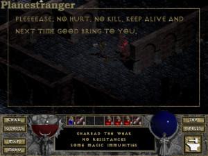 Diablo скриншот