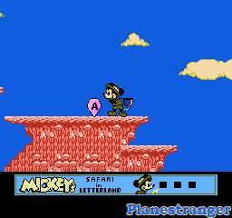 Mickey's Safari in Letterland скриншот