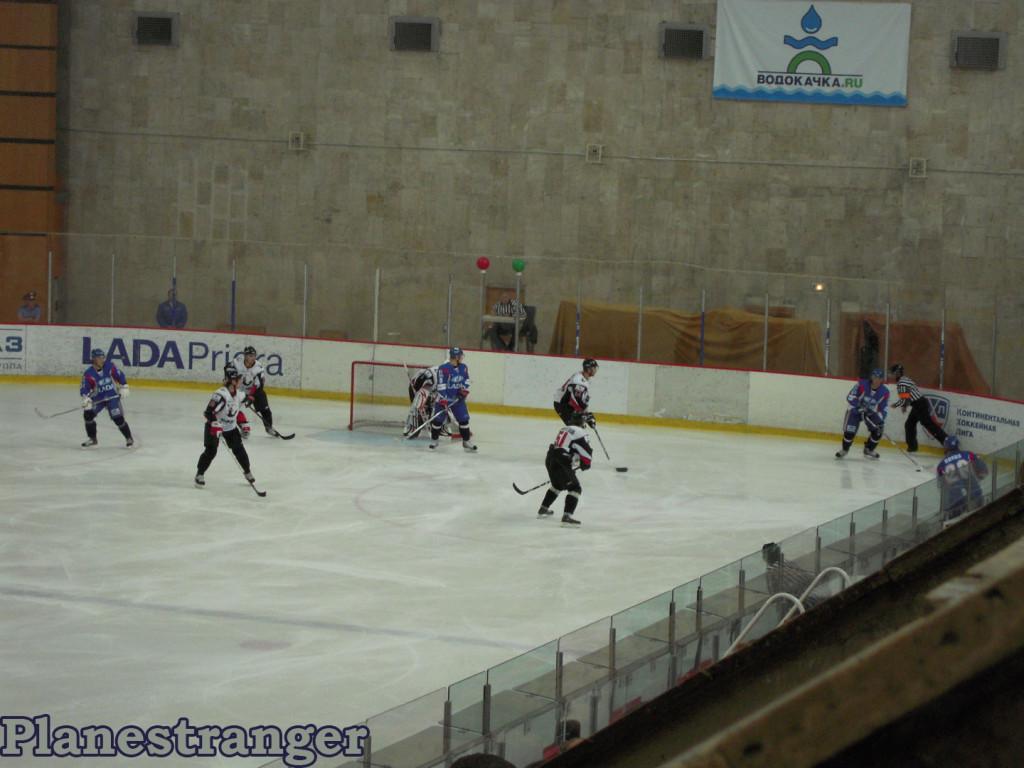 Лада Трактор хоккей