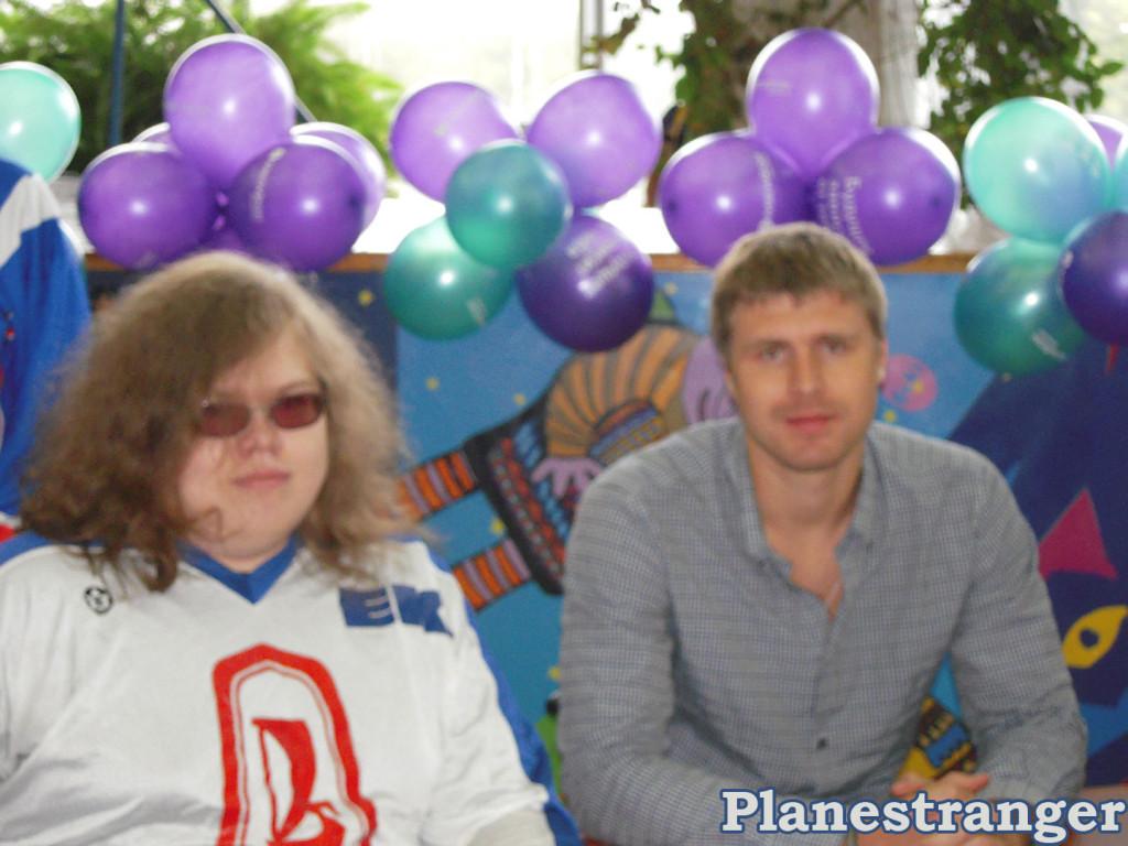 Я с Ильёй Брызгаловым