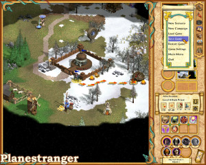 Heroes of Might and Magic 4: The Gathering Storm скриншот игры