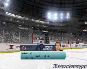 скриншот игры NHL 09 для PC