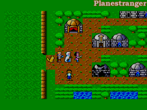 скриншот игры Phantasy Star для Sega Master System