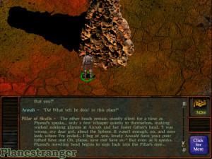 Скриншот игры Planescape: Torment