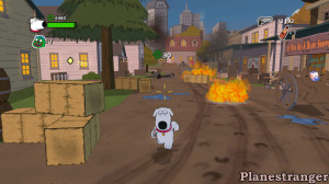Family Guy: Back to the Multiverse скриншот игры