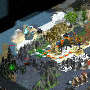 Heroes of Might and Magic 4: The Gathering Storm - PC