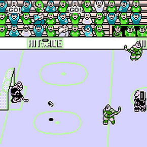 Hit the Ice - NES