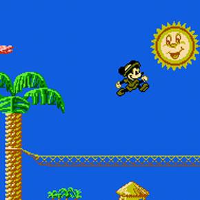 Mickeys Safari in Letterland - NES