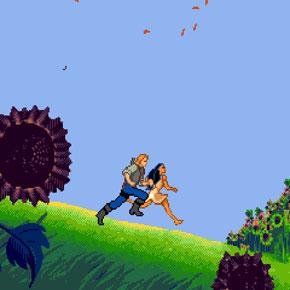 Disney's Pocahontas - Mega Drive
