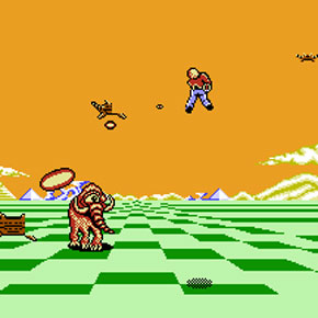 Space Harrier - NES