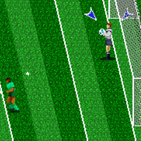 Tecmo World Cup 92 - Mega Drive