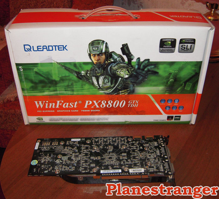 winfast 8800 gtx back side
