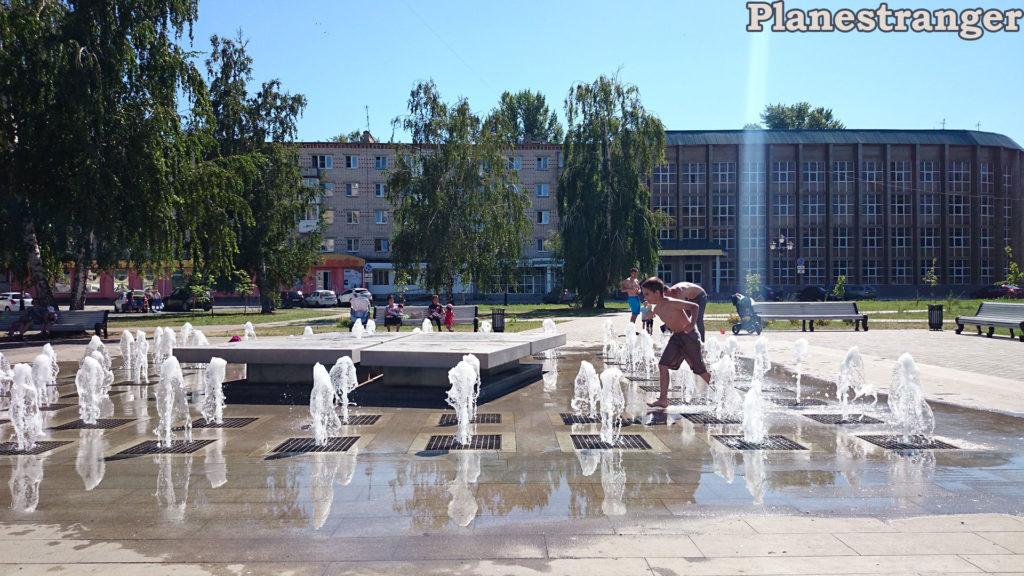 kids summer fountain togliatti