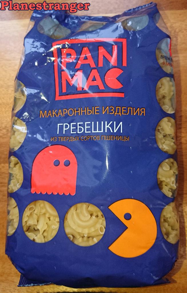 макаронные изделия гребешки Pan Mac