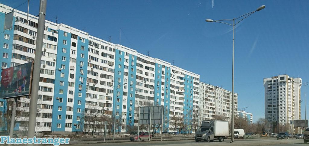 Samara Moscow road