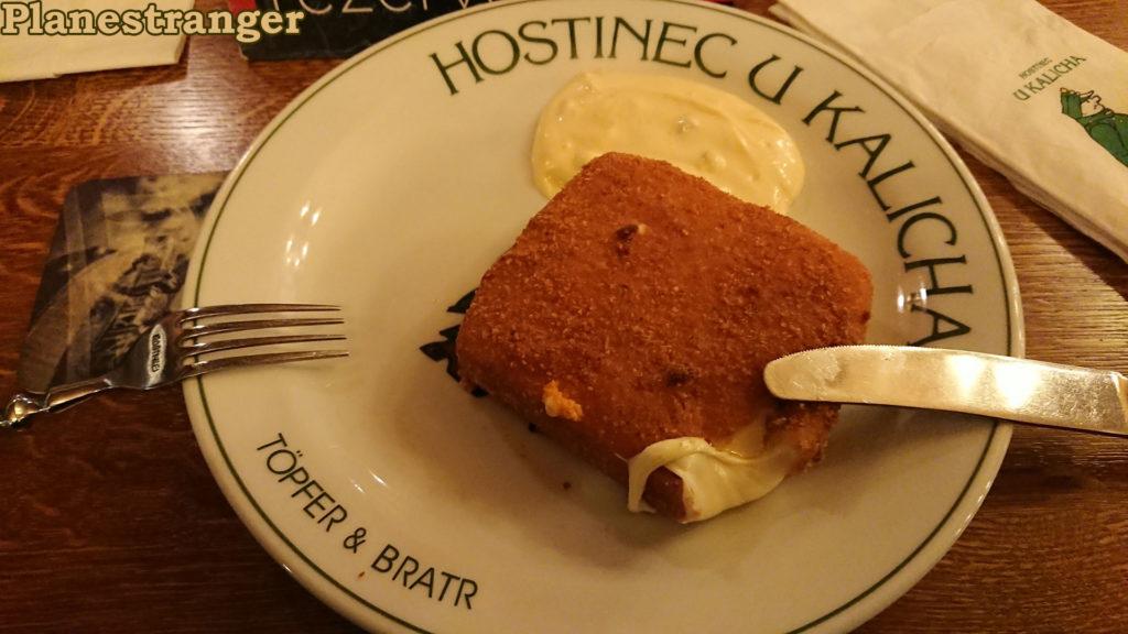 hostinec u kalicha smažený sýr