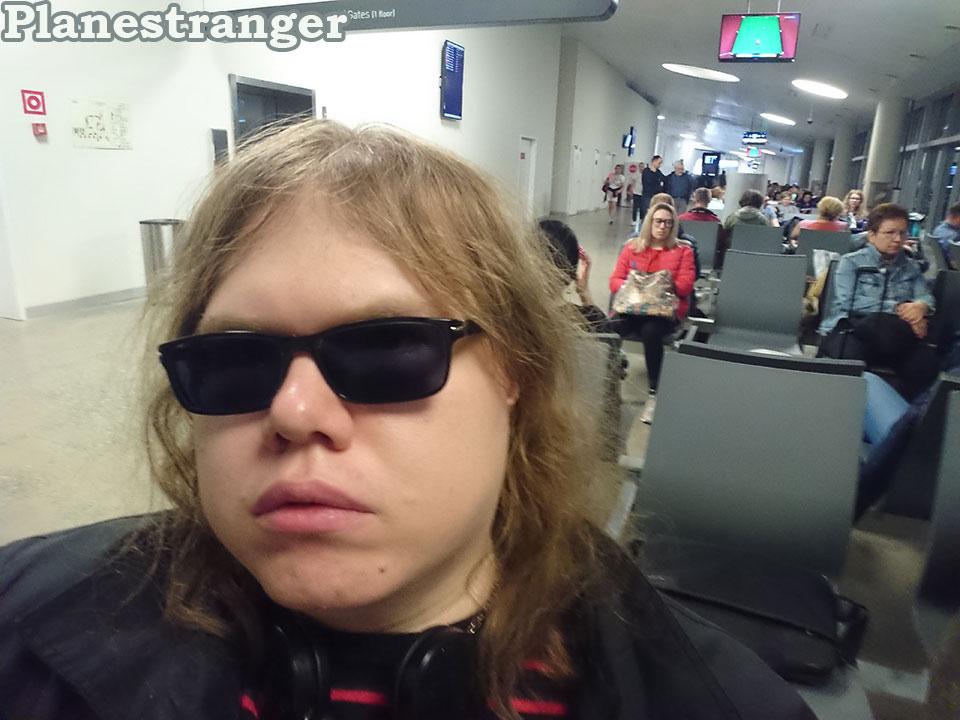 waiting for boarding at kurumoch airport