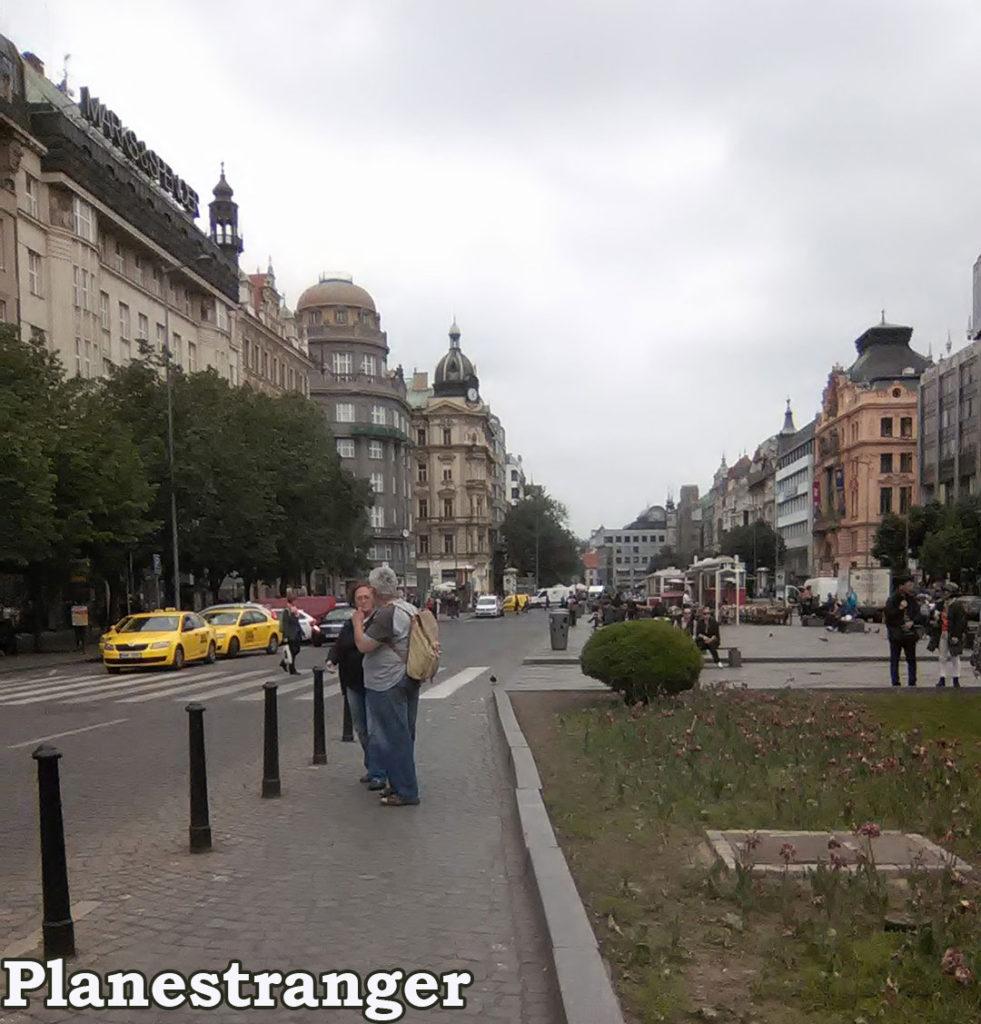 Wenceslas Square Вацлавская площадь Václavské náměstí