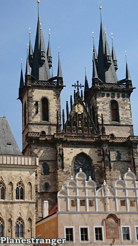 Храм Девы Марии перед Тыном church of our lady before tyn Kostel Matky Boží před Týnem