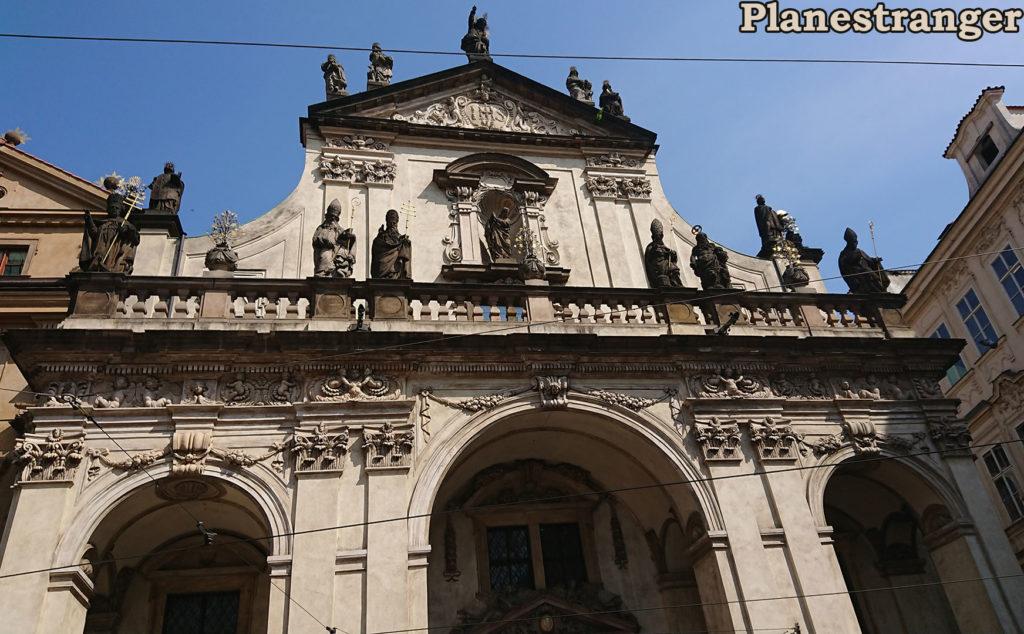 kostel svatého salvátora praha костел святого сальватора