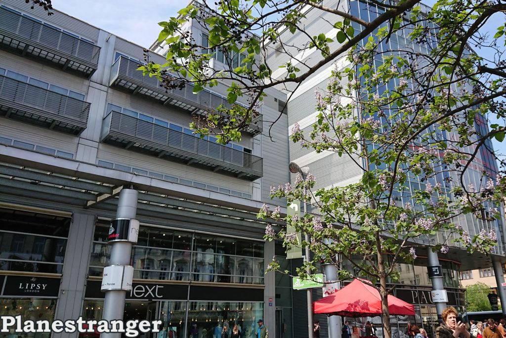 smíchov prague modern building