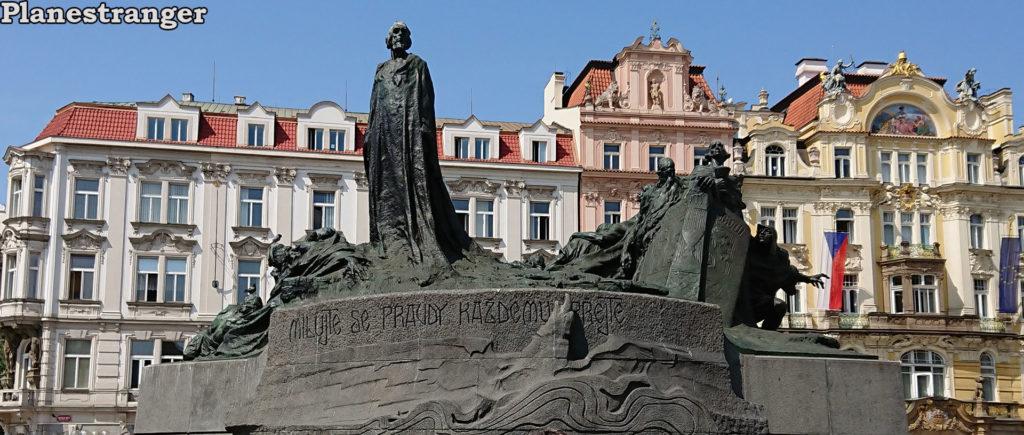 памятник Яну Гусу pomník jana husa