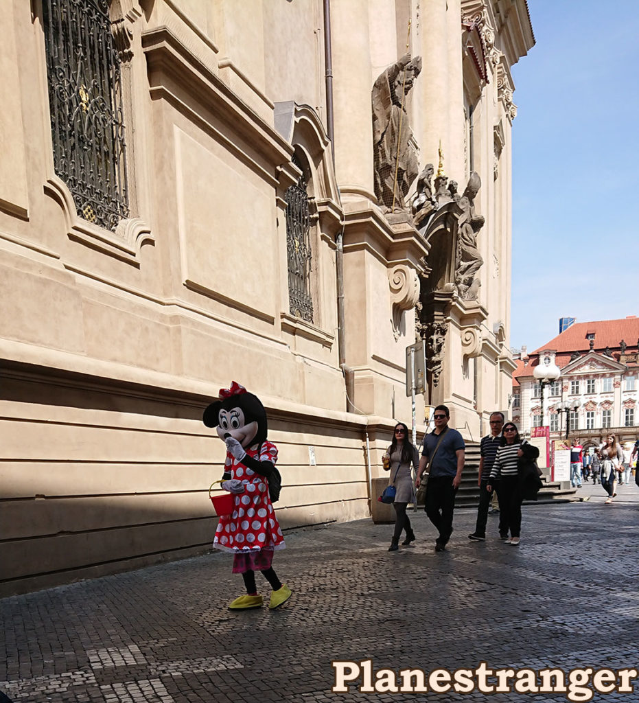 minnie mouse prague