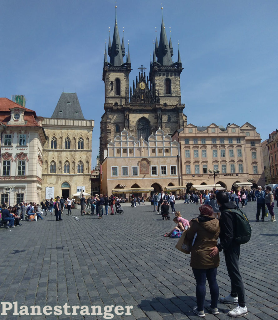 prague old town square praha staroměstské naměstí прага староместская площадь