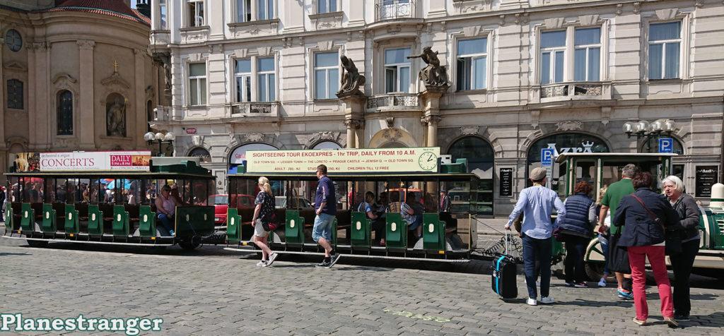 sightseeing tour mini train prague экскурсионный мини-поезд прага