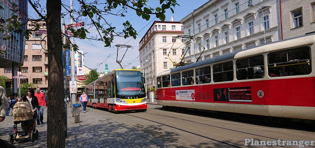 smíchov tram смихов трамваи