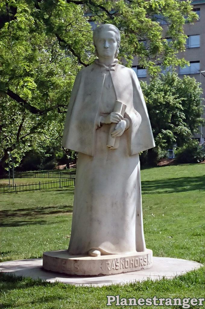 eliška krasnohorská monument памятник