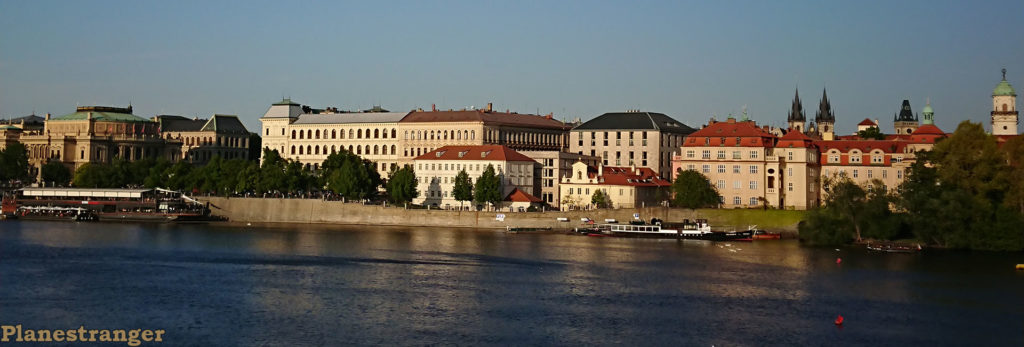 vltava east bank view