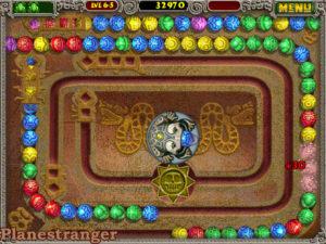 Скриншот игры Zuma Deluxe PC 2003