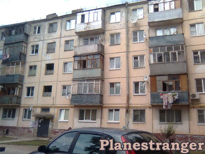 Тольятти улица Октябрьская лето 2012