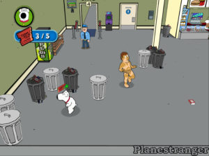Скриншот игры Family Guy Video Game! 2006 PS2