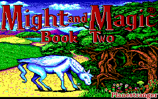 скриншот игры Might and Magic Book Two Gates to Another World PC 1989